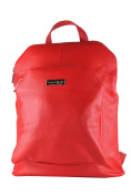 BORDERLINE - 100% Made in Italy - Leather Backpack - DIAMOND