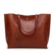 LILYYONG Women Shoulder bag Women Leather Tassel Handbag Shoulder Bag Crossbody Bag