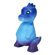 HKFV Superb Amaizng Cute Dinosaurs Baby Dinosaurs Design Lovely Stress Relief Slow Rising Finegr Toys Dinosaur Galaxy Dinosaur Cute Rex Jumbo Squishy Jumbo Scented Cream Super Slow Rising Squeeze Toy