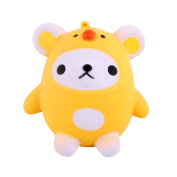 Little Bear Chicken Squeeze Toy,Mamum Squishy Kawaii Cute Bear Jumbo Slow Rising Squeeze Toy Collection Cure Gift