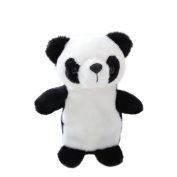 UPXIANG Adorable Interesting Pet Panda Talking Speaking Record Nodding Plush Kids Toys - Repeats What You Say - Cute Electronic Panda Animals Speaking Record Toys, 18CM