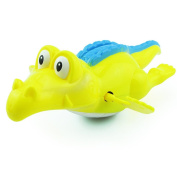 Cooljun Kids Baby Bath Swimming Toy Crocodile Wind Up Clockwork Play Educational Cute Toy