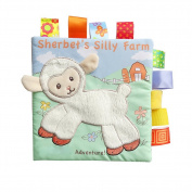 Soft Puzzle Cloth Book Baby Education Development Toys Gift Lamb