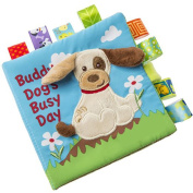 Soft Puzzle Cloth Book Baby Education Development Toys Gift Dog
