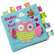 Soft Puzzle Cloth Book Baby Education Development Toys Gift Owl