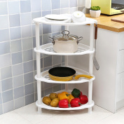L Shelves Plastic Floor Triangle Kitchen Living Room Debris Storage Rack Bathroom Washstands