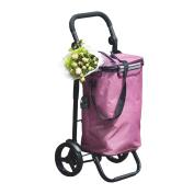 S-L-C Shopping Trolley Lightweight Hard Wearing And Light Weight Material Wheeled Shopping Trolley 2 Wheel Folding Shopping Trolley Cart(45 * 37 * 97cm)