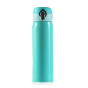 BESTOMZ Vacuum Insulation Cup Stainless Steel Thermal Bottle with Bounce Cover 500ML