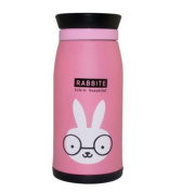 Cartoon Stainless Steel Double Vacuum Flask Insulation Cup Water Bottle