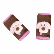 Jeep 2 Count Strap Covers, Pink Puppy