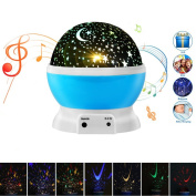 (New Version) Night Light Projector, Elecstars Remote Control Star Lamp with 4 Model Lights Support 360 Rotating and USB Cable, Romantic Home Decoration Lamp, Gift for Kids or Christmas Gift