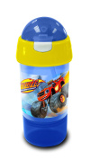Blaze Sip N Snack Bottle, Yellow, 8.5 x 8.5 x 20 cm