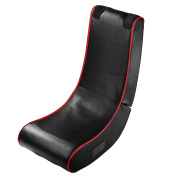 Itek I71002B Bluetooth Gaming Rocker Chair with Multiplayer Connectivity - Black
