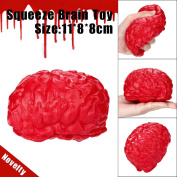 Squeeze Toys,Soft Toys, Decompression toys, Education Toy, TUDUZ Newest Funny Kawaii Novelty Silicone Stress Ball Scary Organ Brain Squeeze Toy Stress Reliever Toy