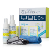 Tech Armour 120 ML Pro Cleaning Kit with ExtraMove Formula and Cleansing Wipes