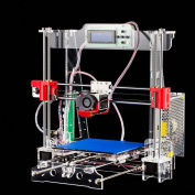 Tronxy 3D Printer, P802M DIY 3D Printer High Precision Reprap Prusa I3 3D Printing Machine LCD Screen 3D Printer with black 1.75mm PLA 3D Printer Filament 1KG