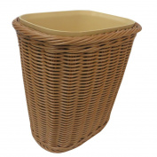 LoKauf Plastic Trash Baskets Waste Bin Paper Bin