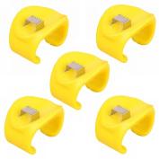 GOOTRADES 5 Pcs Easy One-Step Corn Peeler Thresher Tools Kitchen Helper Cutter Stripper Remover