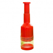 RainBabe Plastic Handheld Press Cutter Slicer Chopper Peeler Dicer for Vegetable Onion Food Garlic