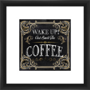 Wake Up and Smell Coffee 36cm x 36cm Wall Art