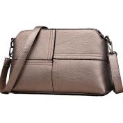 Ladies Shoulder Bags Soft PU Leather Handbags Crossbody Bags Multi Pockets Purse for Women
