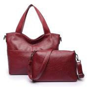 Ms. Shoulder bag,Large capacity bag Retro messenger bag Leisure subbag-C