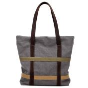 Ladies canvas bag,Simple Wild College wind handbag Shoulder bag Hobo bags-A