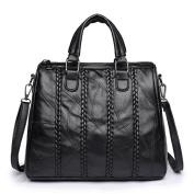 Women's travel bag,Braided Vintage bulk bag Tote bag Shoulder bag-A