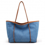 Ms. Canvas bag,Environmental protection cloth shoulder bags Handbag Hobo shoulder bags for women-C