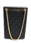 Love Moschino Borsa Quilted Nappa Pu Nero, Women's Baguette, Black, 5x15x10 cm