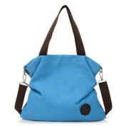Yuan Canvas Shoulder Bags Crossbody Bag for Women Shoulder Messenger Handbag Totes