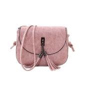 Yuan Womens Tassel Fashion Shoulder Handbag Cross Body Messenger Small Bag