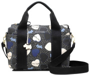 RADLEY Hearts Oilskin Black Medium Multiway Zip-Top Bag - RRP £105.00