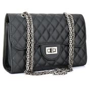 Women's Leather Fashion Handbag Quilting Envelope Cross Body Shoulder Bag