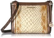 Brahmin Carrie Crossbody Satchel Bag