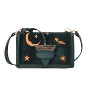 OURBAG Velvet Shoulder Bag Messenger Cross Body Bags Handbag Green