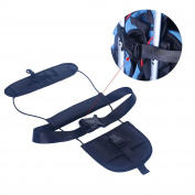 Xshuai Add A Bag Backpack Belt Travel Luggage Suitcase Adjustable Strap Carry On