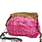timeracing Fashion Women Girl Bohemian Boho Ethnic Print Beach Bag Purse Cloth Shoulder Clutch Crossbody Bag