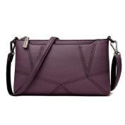 Women's Clutches PU leather Shoulder bag Mini Messenger bag Cross-Body Bags Wristlet