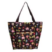 LILYYONG Women Shoulder bag Printing Zipper waterproof Nylon Hand Bag