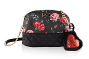 Luv Betsey By Betsey Johnson Emily Dome Crossbody Bag- Red
