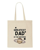 Best Dad In The Universe Sublimation Tote Bag Shopper