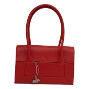 RADLEY 'Border' Medium Red Leather Shoulder Bag - RRP £229 - NEW