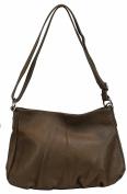 BOZANA Women's Shoulder Bag Brown mud