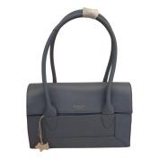 RADLEY 'Border' Medium Blue Leather Shoulder Bag - RRP £229 - NEW