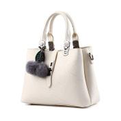 LILYYONG Women Hair Ball Lichee Pattern Crossbody Bag Shoulder Bag Handbag