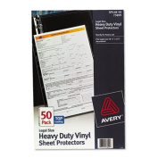 Avery Legal Size Sheet Protectors