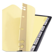 Avery Post Binder Insertable Tab Dividers, 6-Tab, 11 x 17