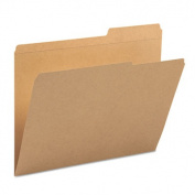 Smead Kraft Folders with Reinforced Tab