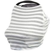 Kanpola Baby Car Seat Cover Canopy Nursing Breastfeeding Cover Multi-Use Flexible Unisex